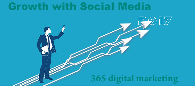 Growth with social media marketing tools