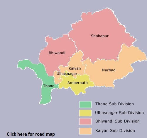 thane district new map